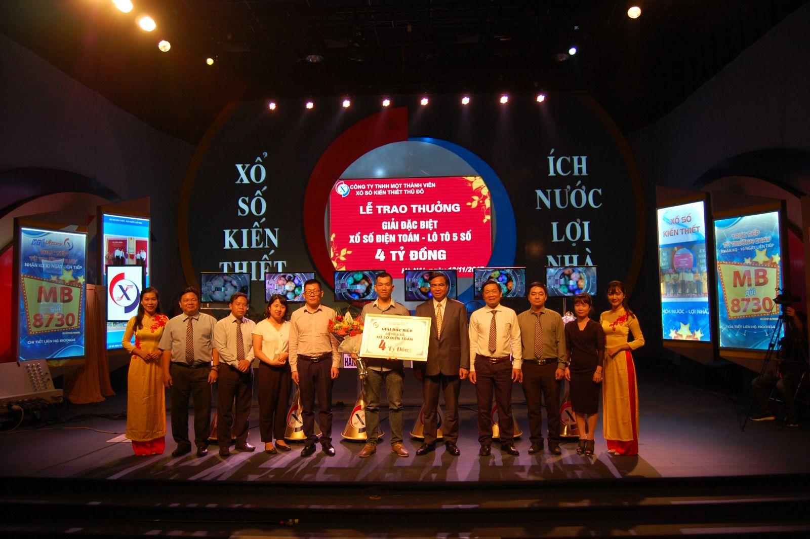 Lễ trao thưởng 4 tỷ đồng